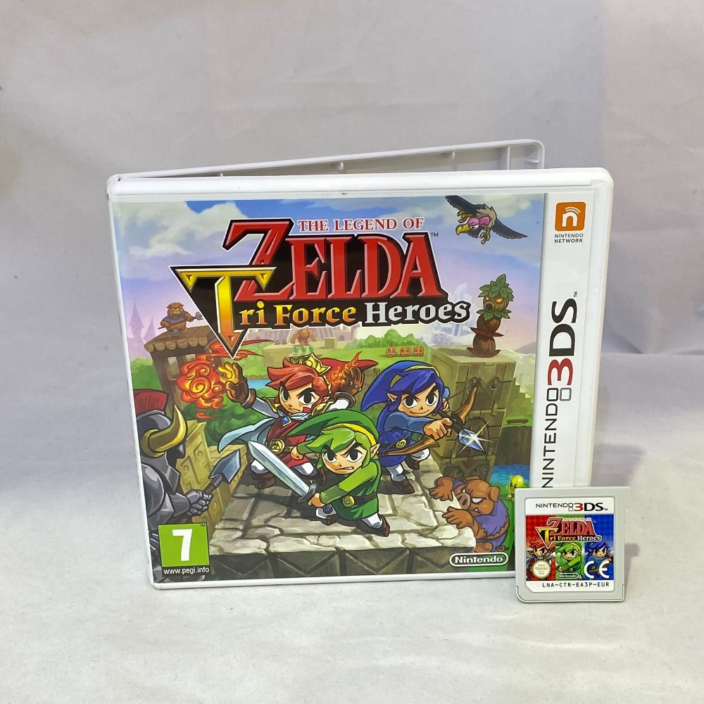 Product photo for Legend Of Zelda: Tri Force Heroes (3DS)