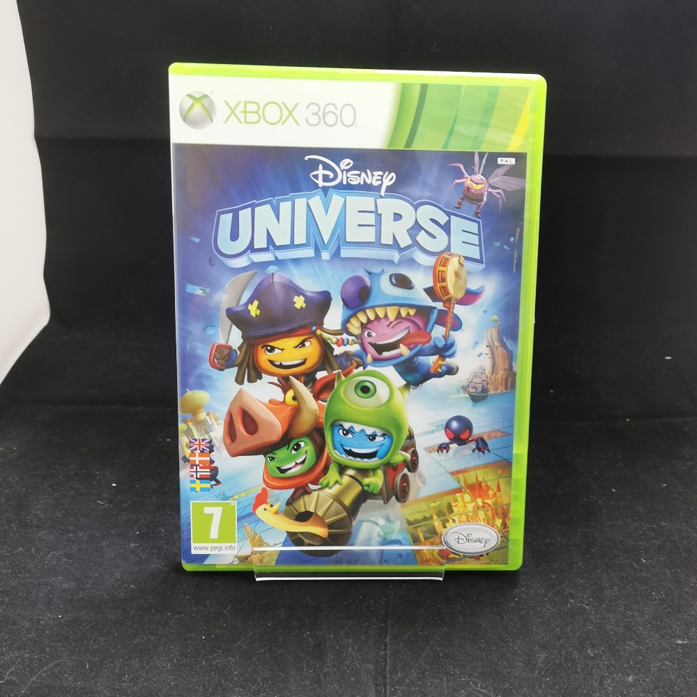 Product photo for xbox 360 game Disney Universe