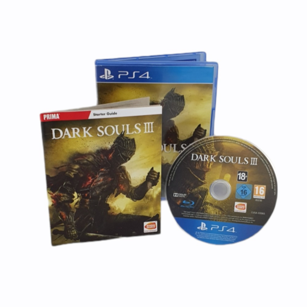 Product photo for Dark Souls III - PlayStation 4 Game