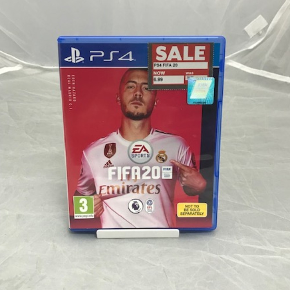 Product photo for PlayStation 4 Game Fifa 20 *SALE*