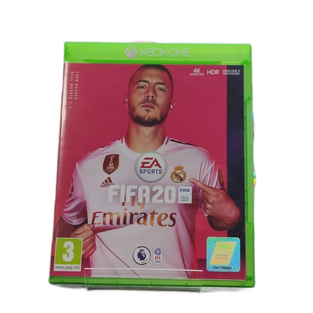 Product photo for  Microsoft Xbox one game Fifa 20