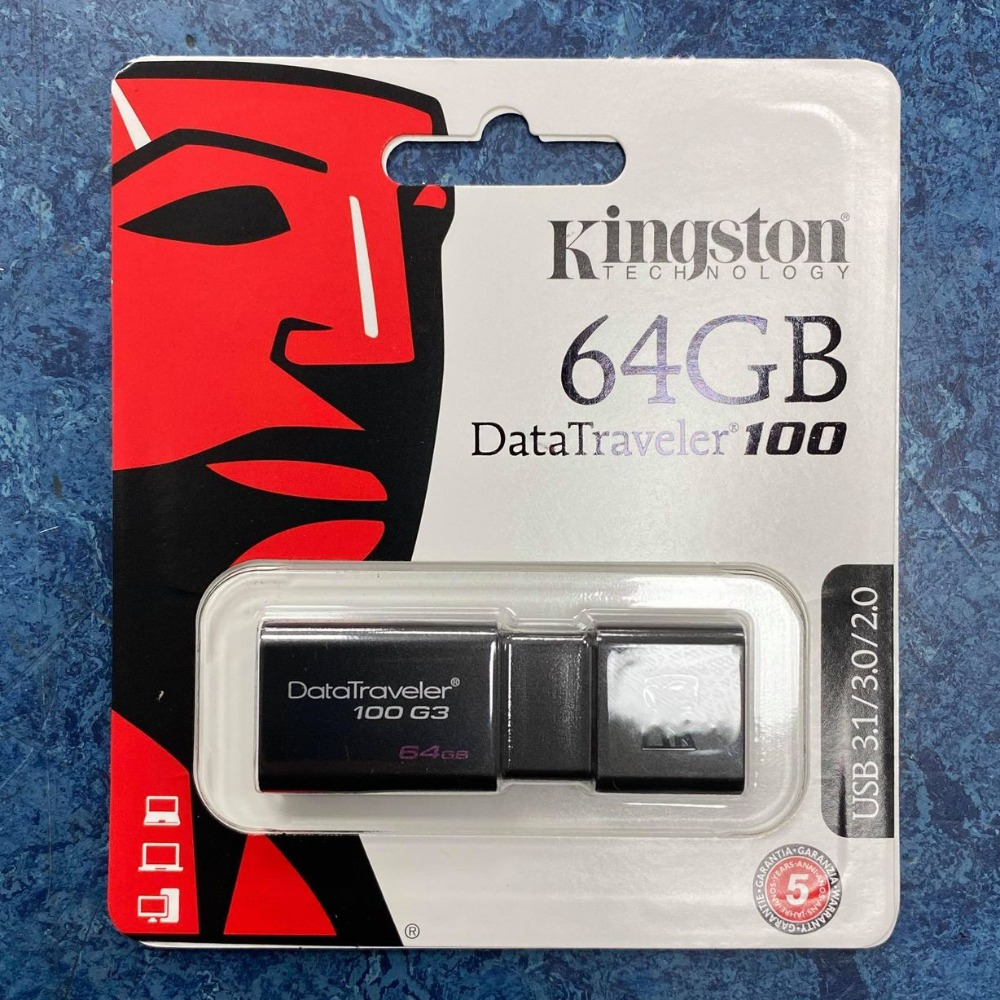 Product photo for Kingston Technology 64GB USB Stick