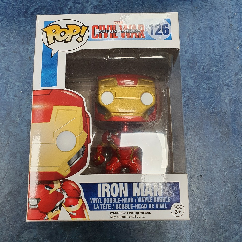 Product photo for Funko Pop iron man #126