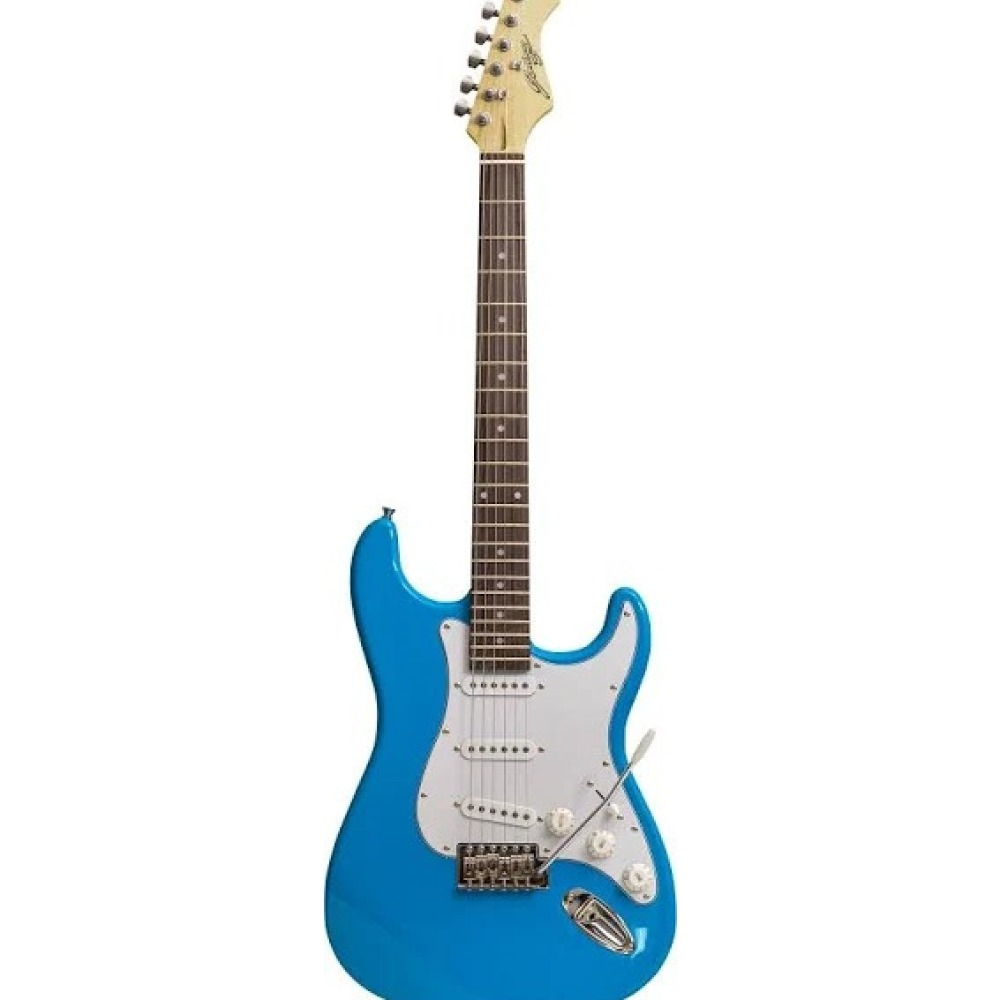 Product photo for Johny Brook Electric Guitar Blue
