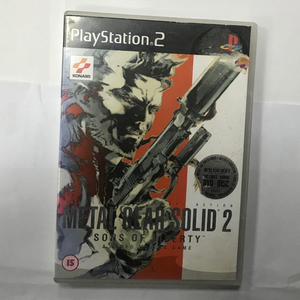 Product photo for Sony Metal gear solid 2 PS2