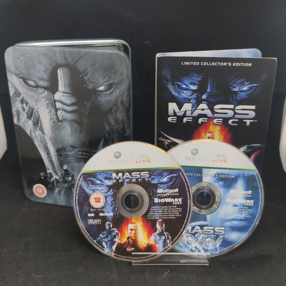 Product photo for  Microsoft Xbox 360 game Mass Effect Limited Edition Tin