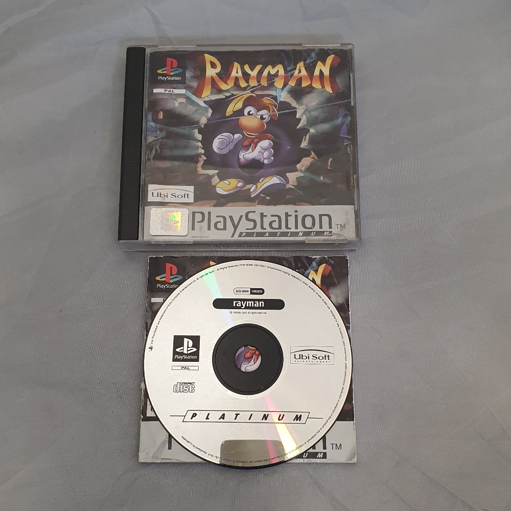 Product photo for Rayman (PS1)