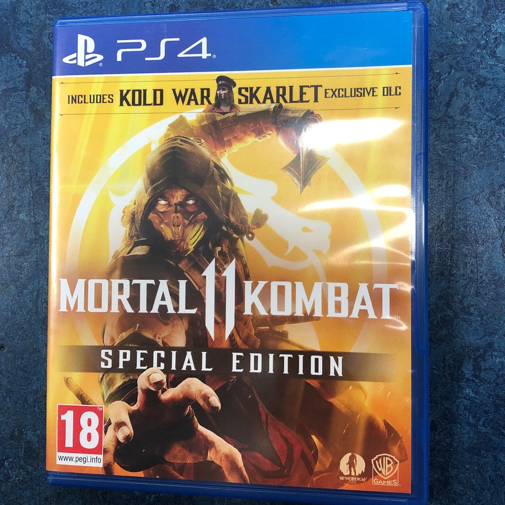 Product photo for Sony PS4 Game mk 11