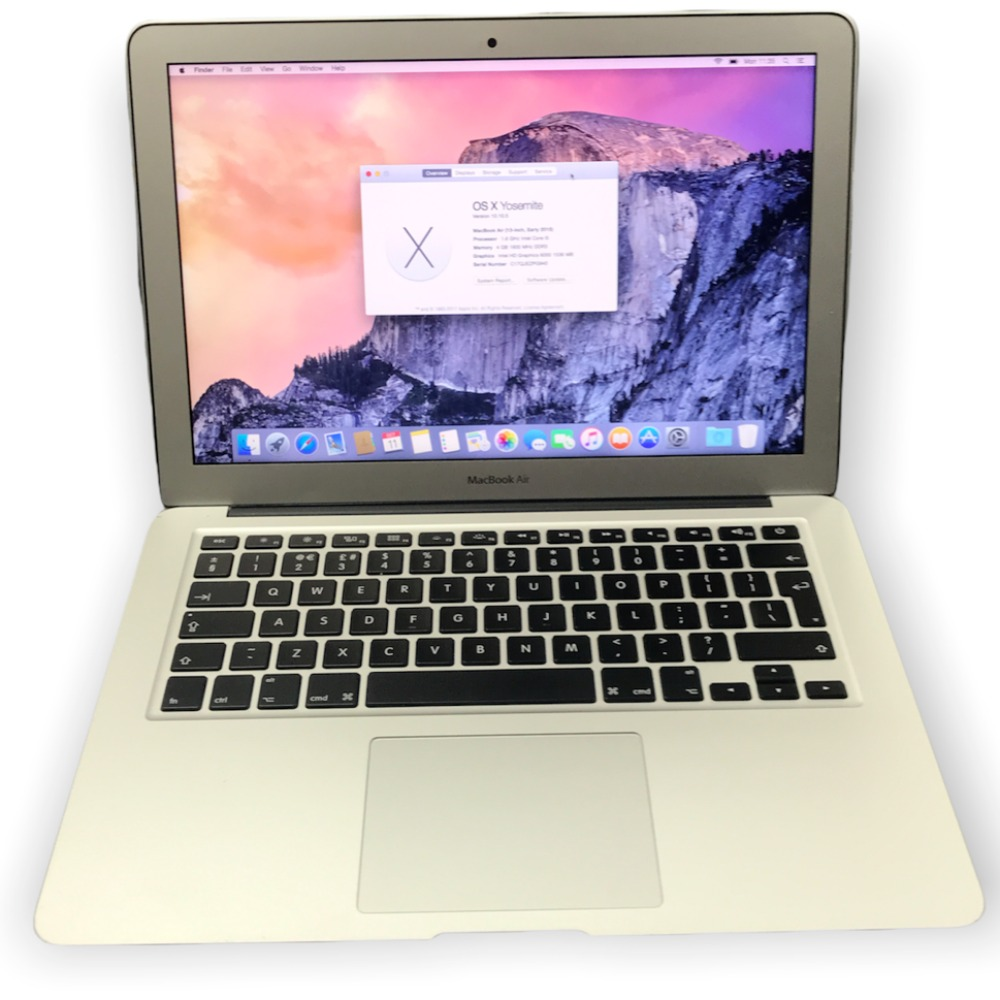 Product photo for Apple MacBook Air (Early 2015)