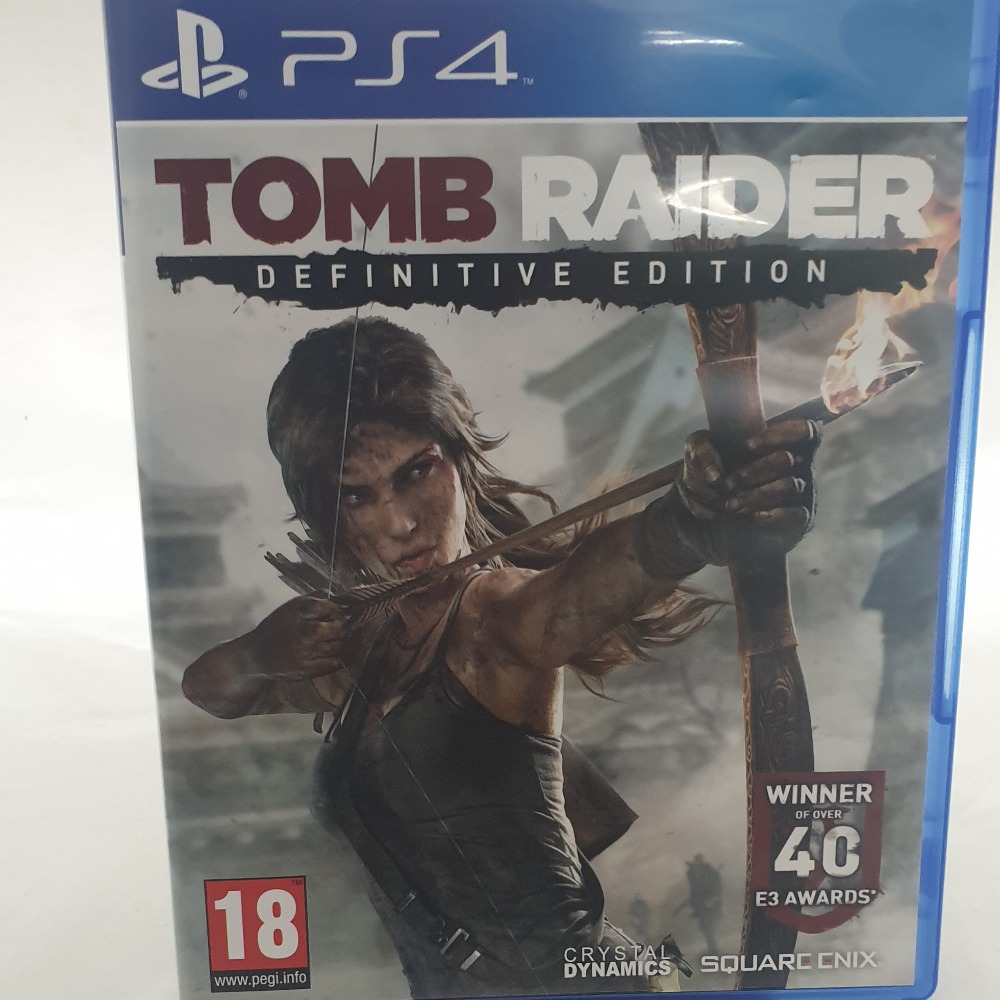 Product photo for PS4 Tomb Raider