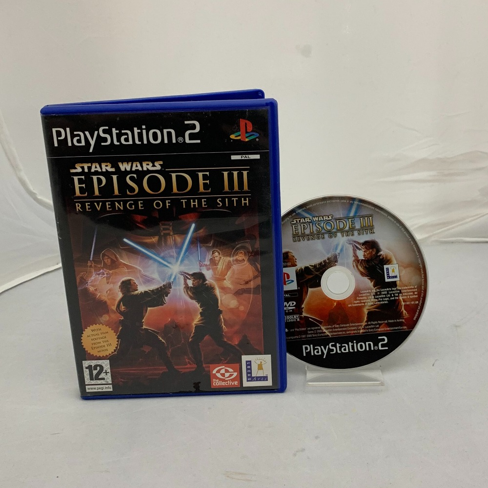 Product photo for Playstation 2 Star Wars Episode III: Revenge of the Sith