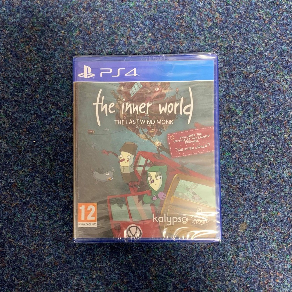 Product photo for PS4 Game The Inner World The Last Wind