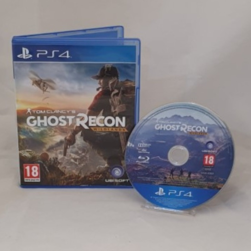 Product photo for Ghost Recon - Wildlands - PS4