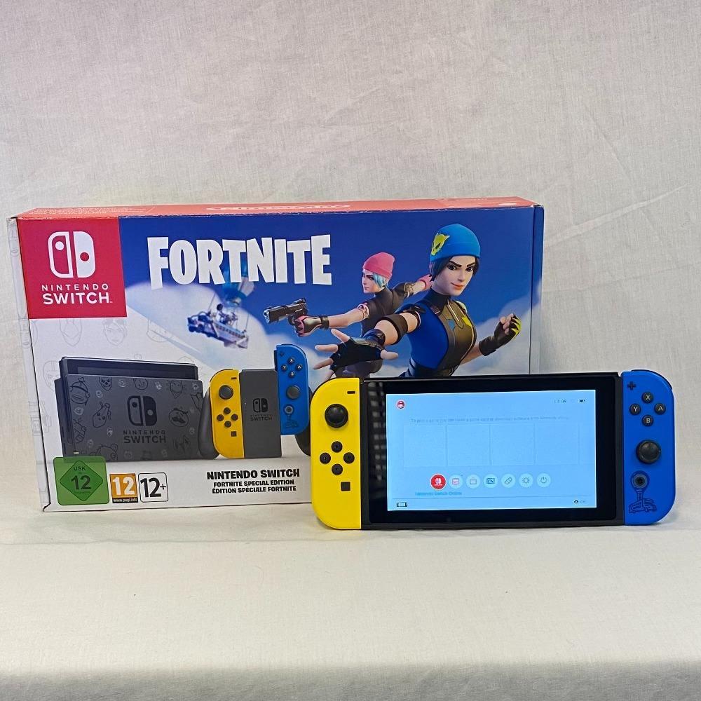 Product photo for Nintendo Switch - Fortnite Edition