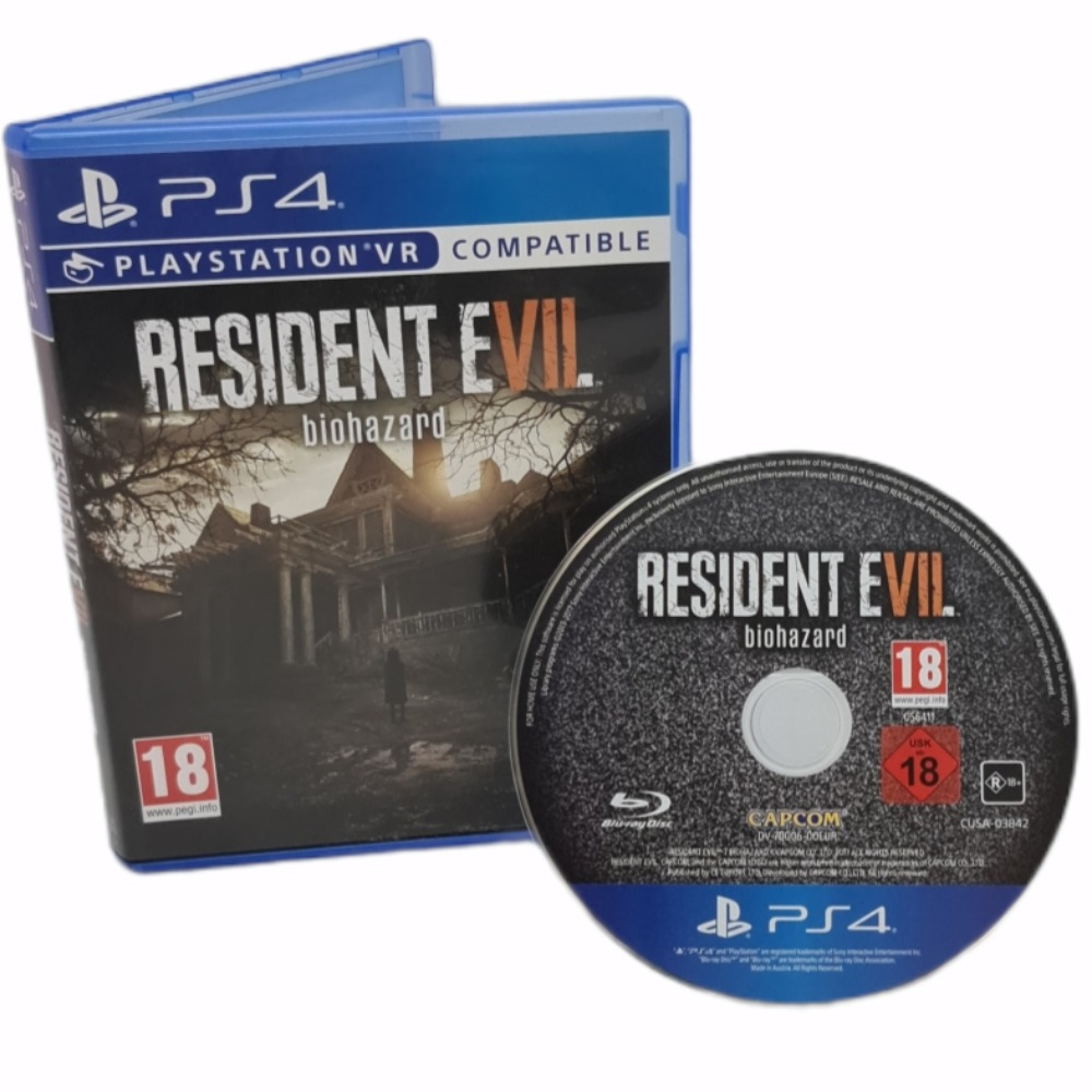 Product photo for Sony PlayStation 4 Game Resident Evil. Biohazard