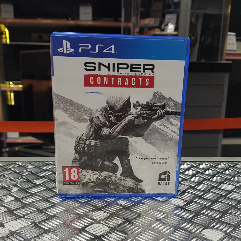 Product photo for Sniper Ghost Warrior: Contracts (PlayStation 4)