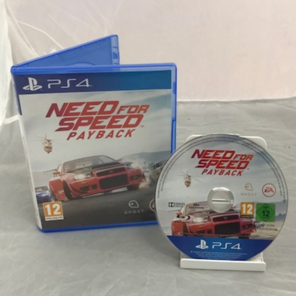 Product photo for PlayStation 4 Game Need for Speed Payback