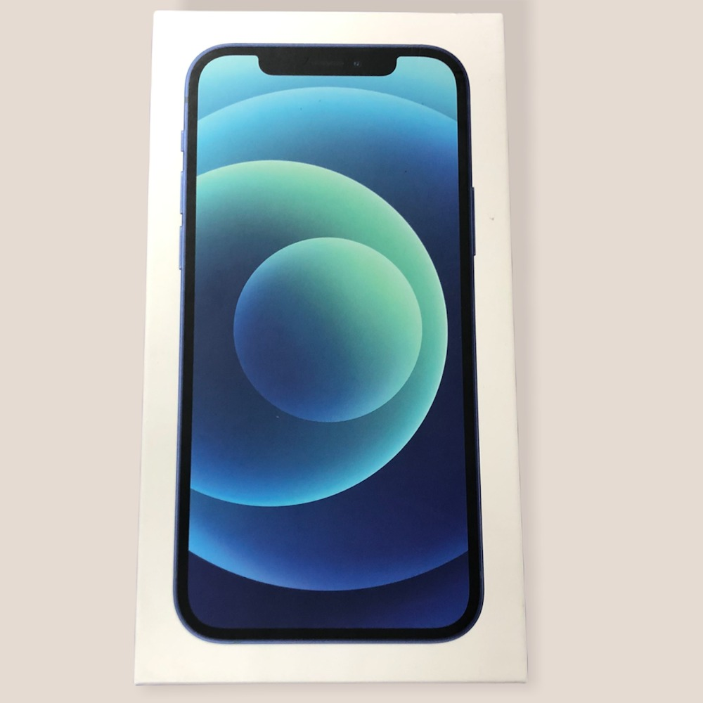 Product photo for Apple iPhone 12 (64GB, Blue)