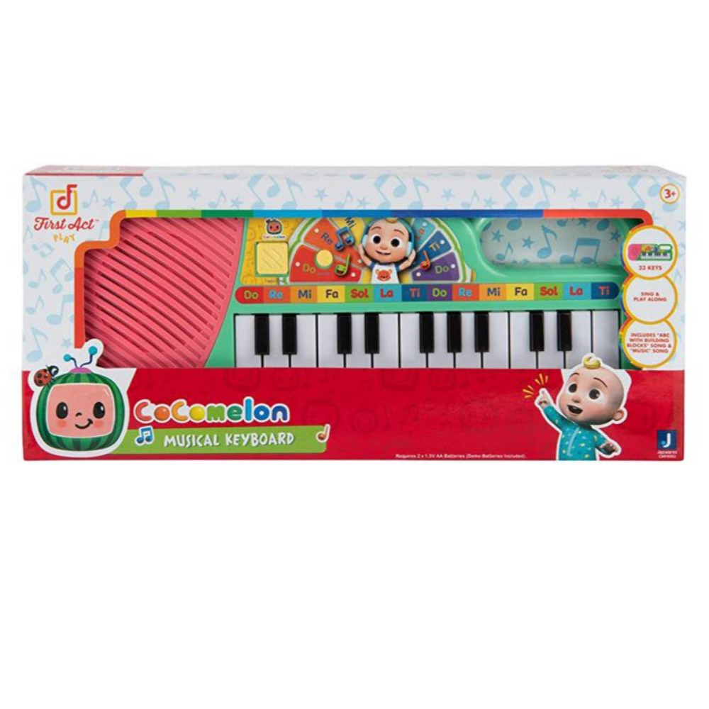 Product photo for CoComelon First Act Musical Keyboard