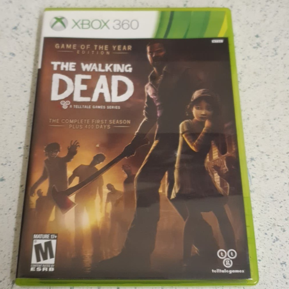 Product photo for  Microsoft Xbox 360 game The Walking Dead