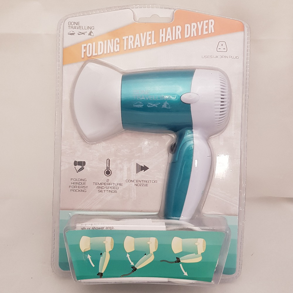 Product photo for Gone Travelling Travel hairdryer