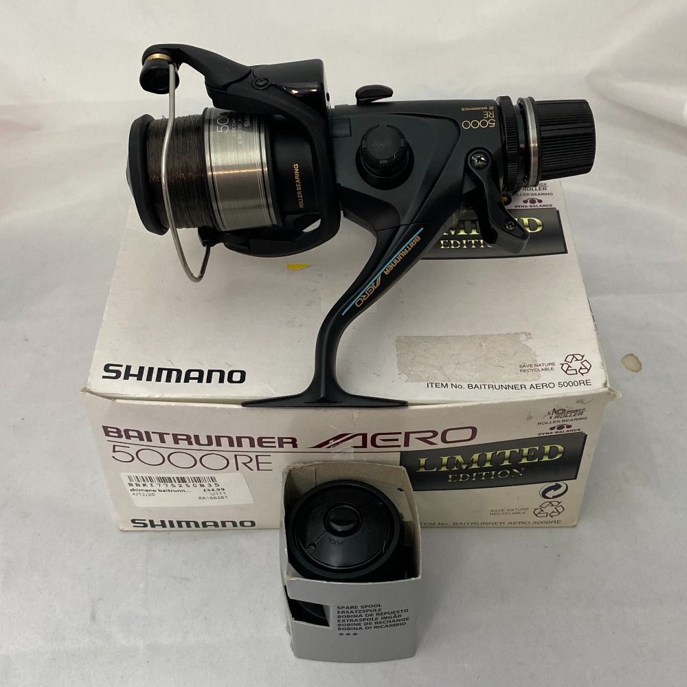 Product photo for Shimano  shimano baitrunner aero 5000 re