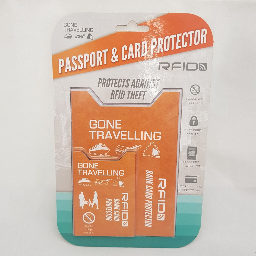 Product photo for Gone Travelling RFID Protector Covers