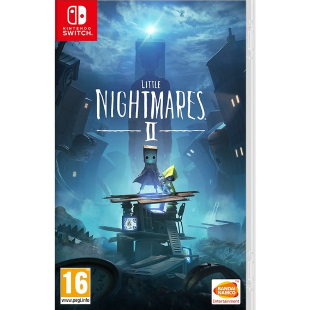 Product photo for Day-One Edition Little Nightmares 2 With DLC - Nintendo Switch Game