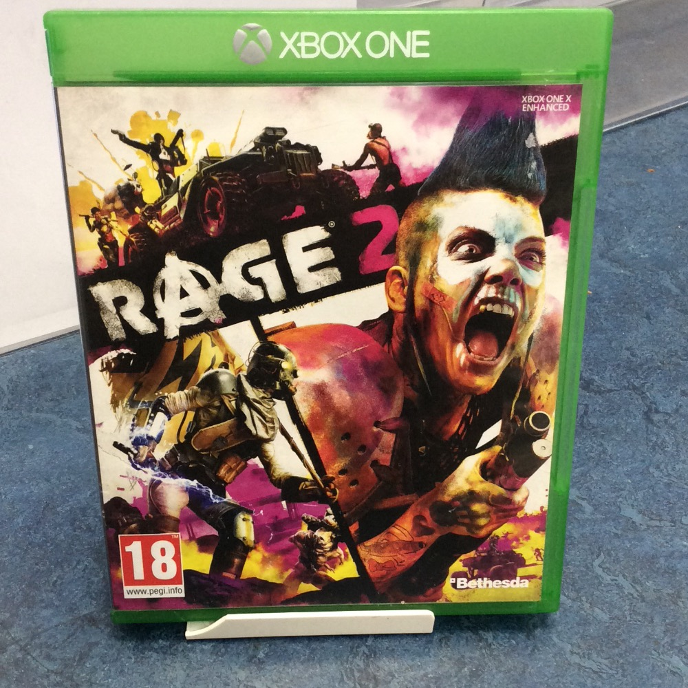 Product photo for  Microsoft Xbox one game Rage 2