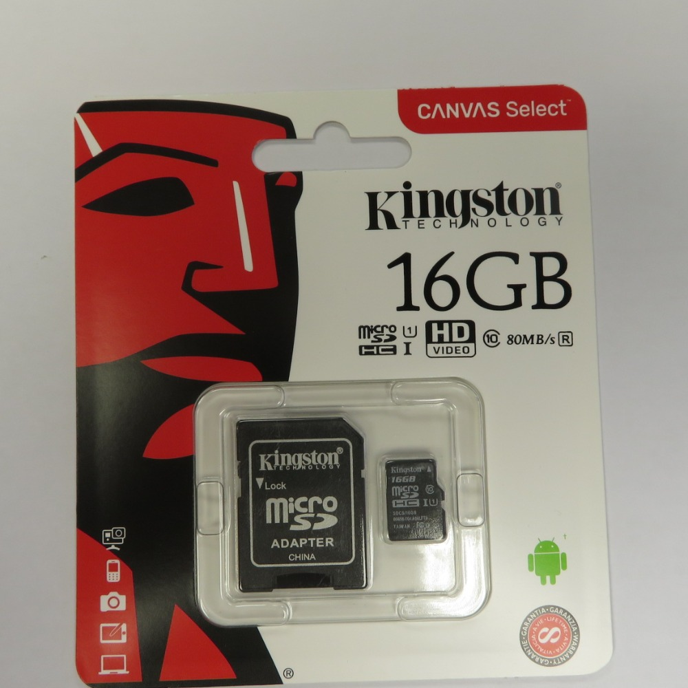 Product photo for KTC 16GB Micro SD