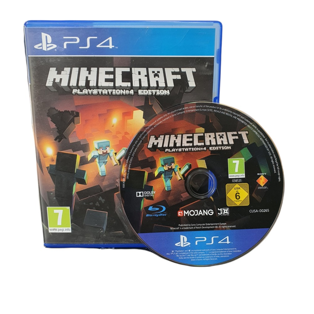 Product photo for Minecraft - PLAY STATION 4 GAME
