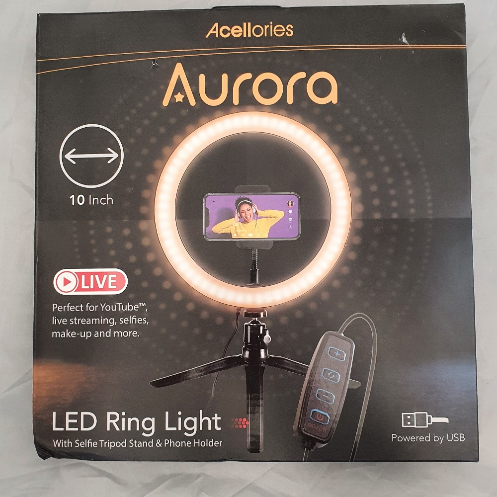 Product photo for Acellories Aurora LED Ring Light (Boxed)