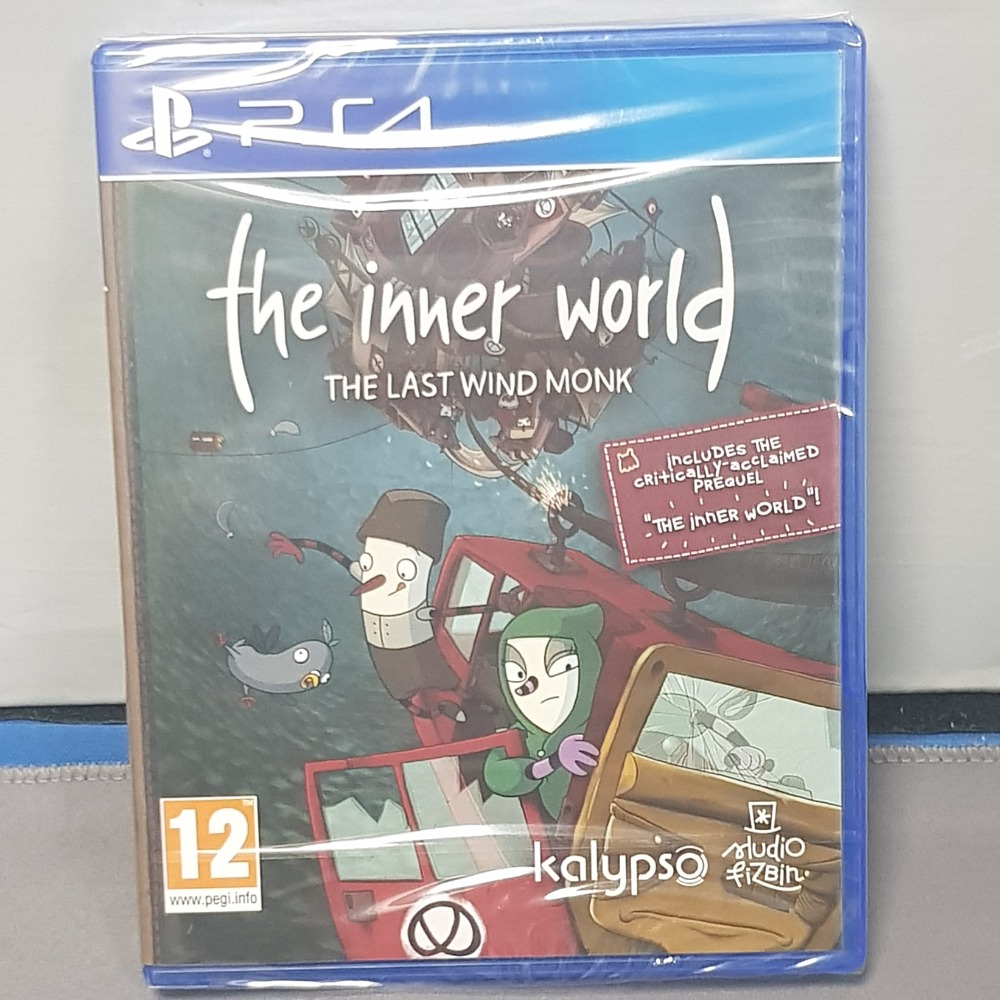 Product photo for The Inner World The Last Wind Ps4 Game