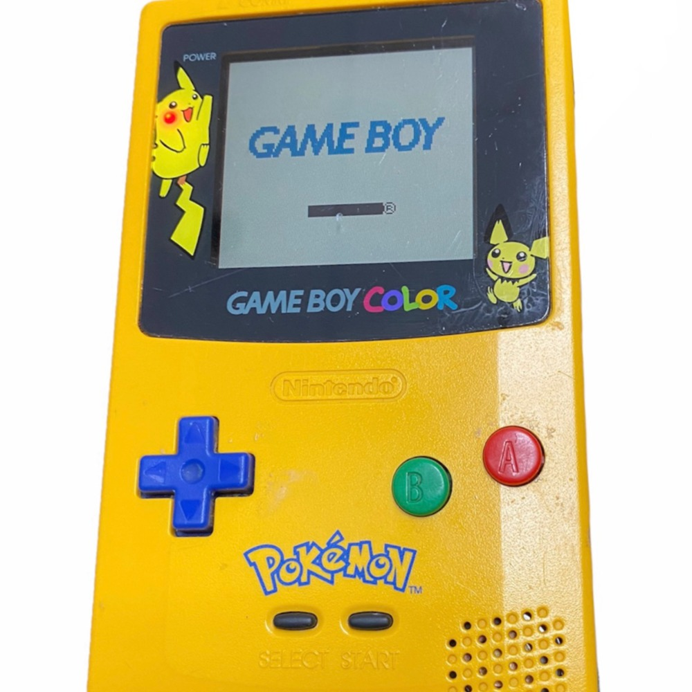 Product photo for GameboyColor Pikachu ED
