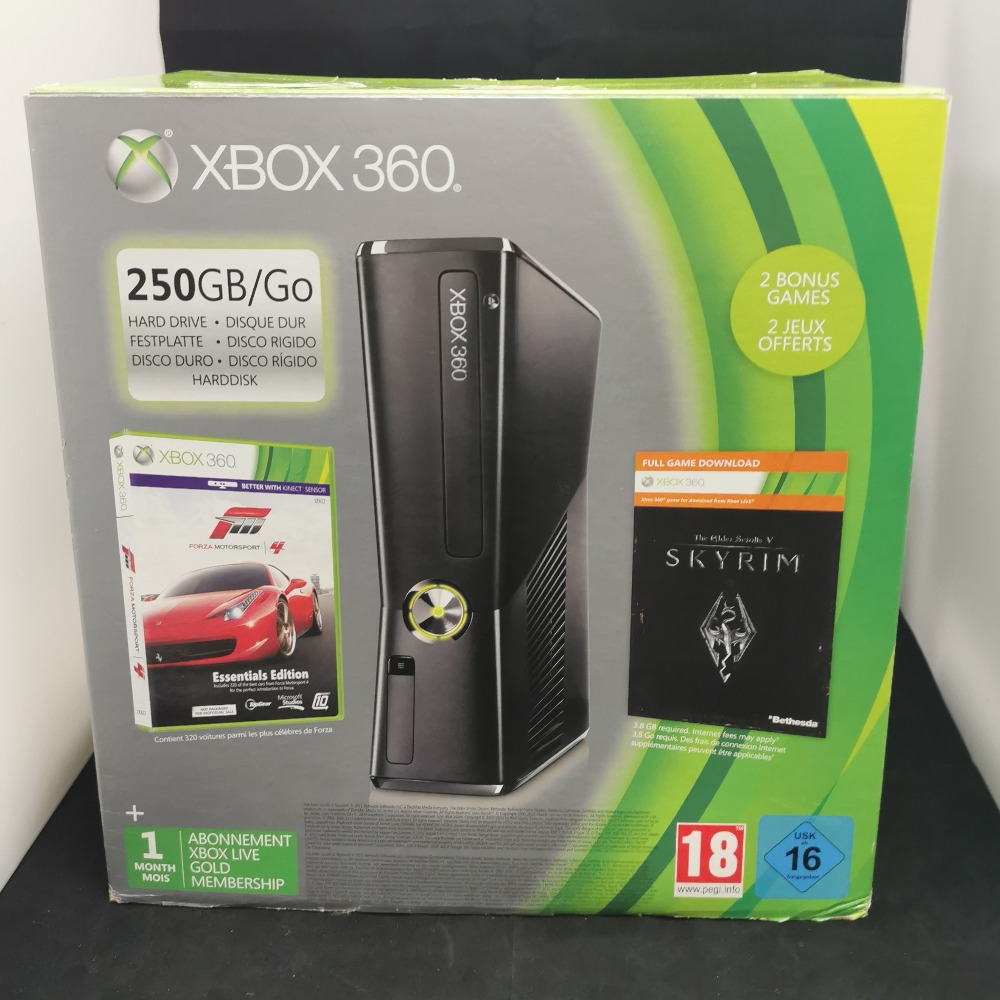 Product photo for Microsoft Xbox 360 250GB