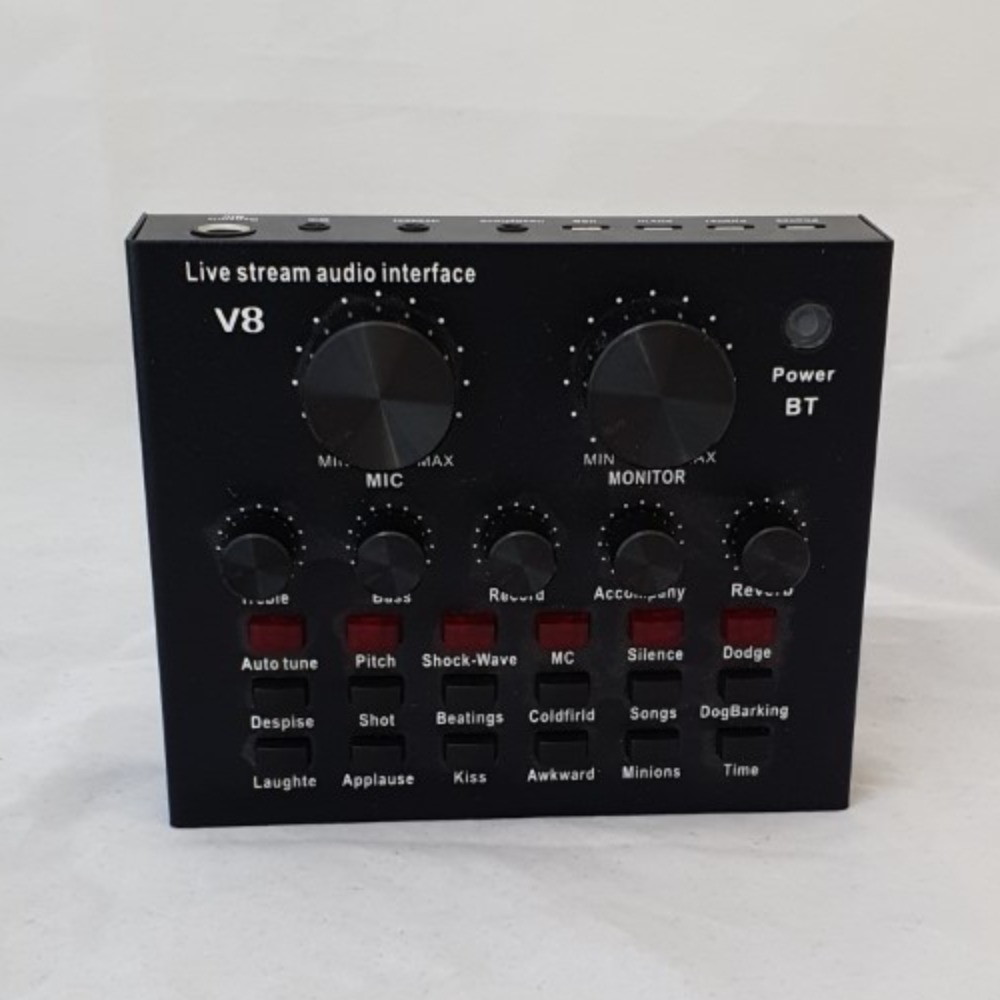 Product photo for Live Stream Audio Interface V8