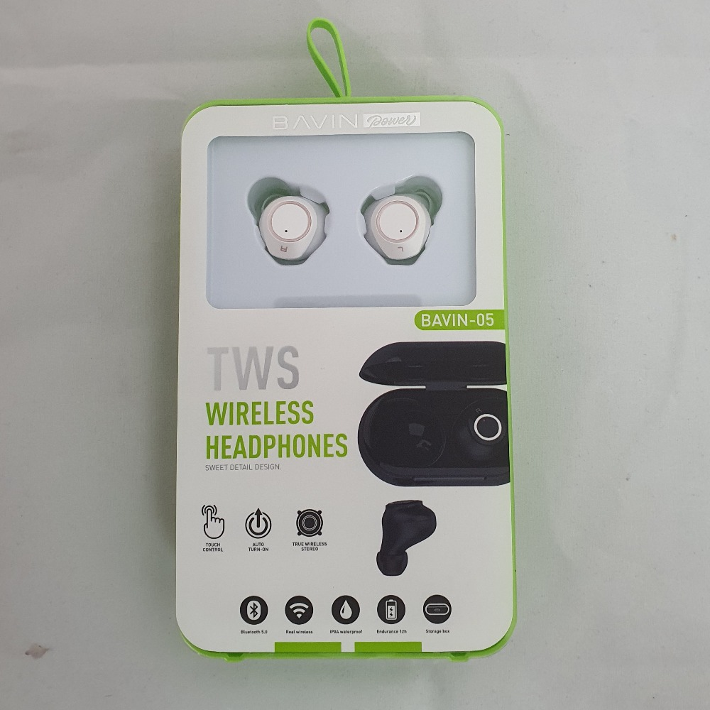 Product photo for Bavin TWS Wireless Earbuds