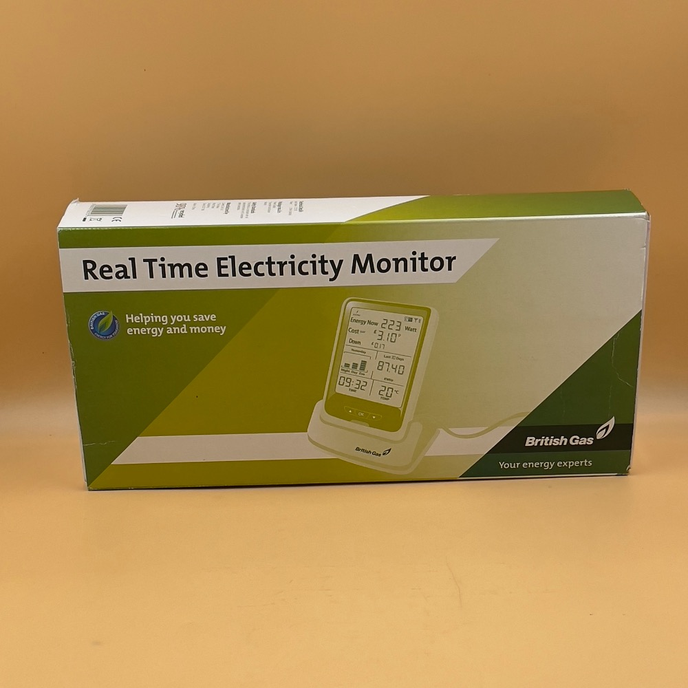Product photo for BRITISH GAS REAL TIME ELECTRICITY MONITOR