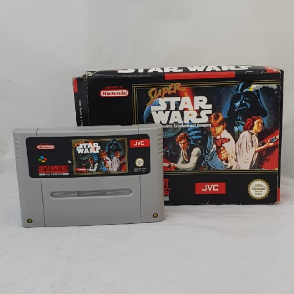 Product photo for Super Star Wars - SNES