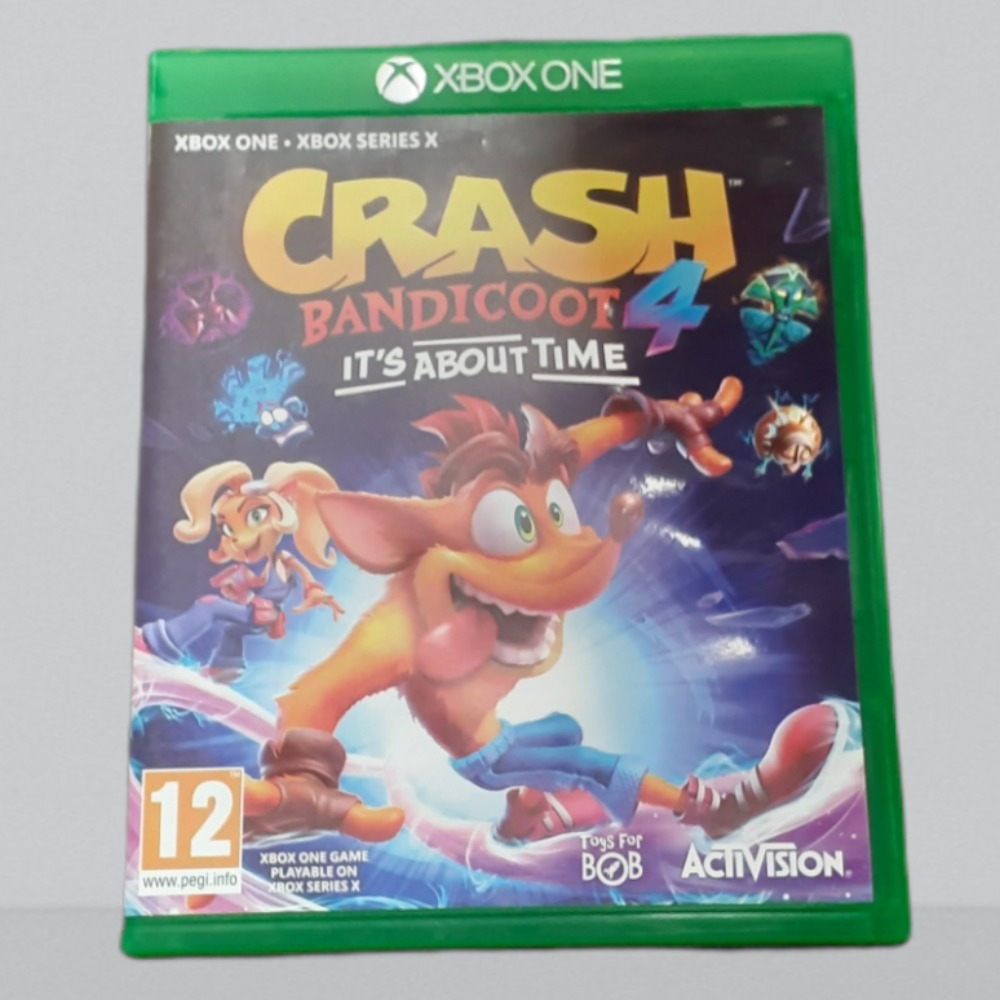 Product photo for Xbox One Game crash about time