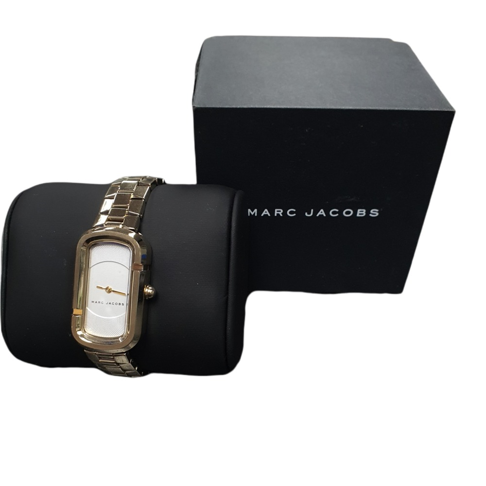 Product photo for MARC JACOBSThe Jacobs White Dial Ladies Watch MJ3501