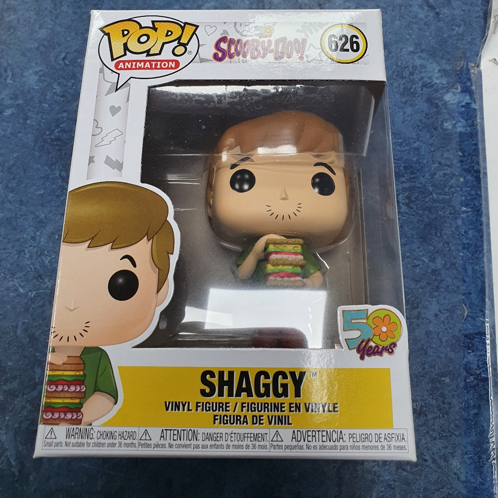 Product photo for shaggy #626 scooby doo 50 years