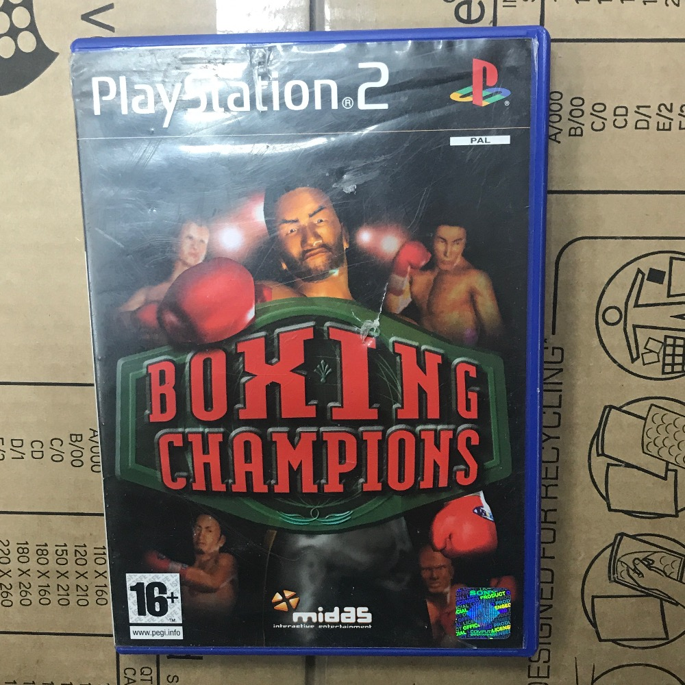 Product photo for Sony PS2 Game boxing PlayStation 2