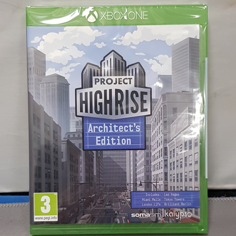 Product photo for Project Highrise Xbox One
