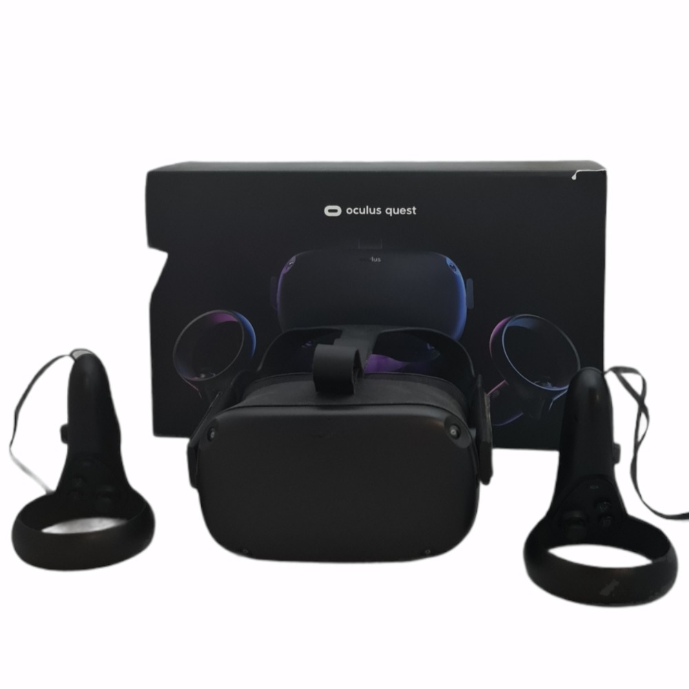 Product photo for Oculus Quest All-In-One VR Gaming Headset