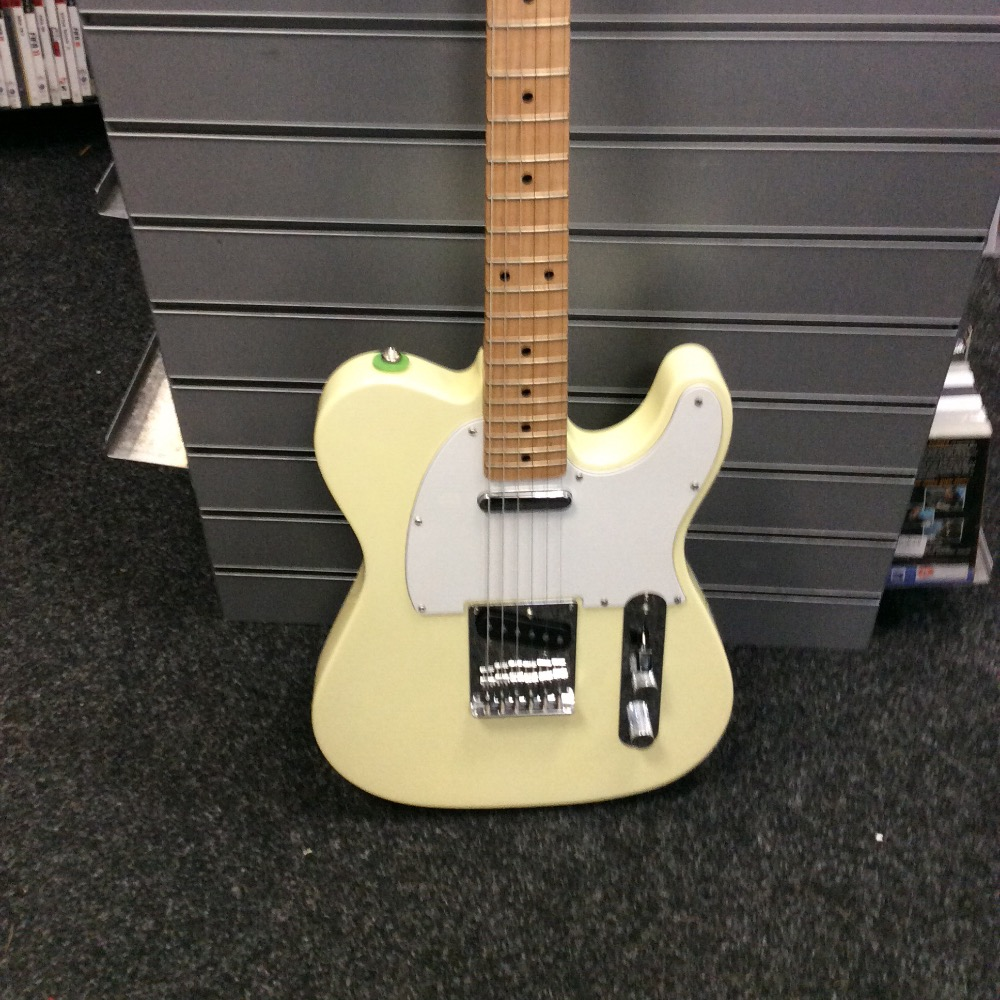 Product photo for Fender Fender squier tele white/butterscotch