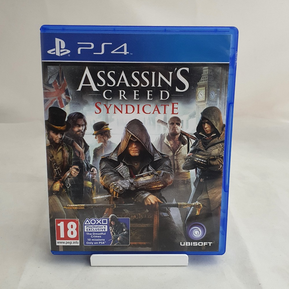 Product photo for PS4 Game Assassins Creed Syndicate