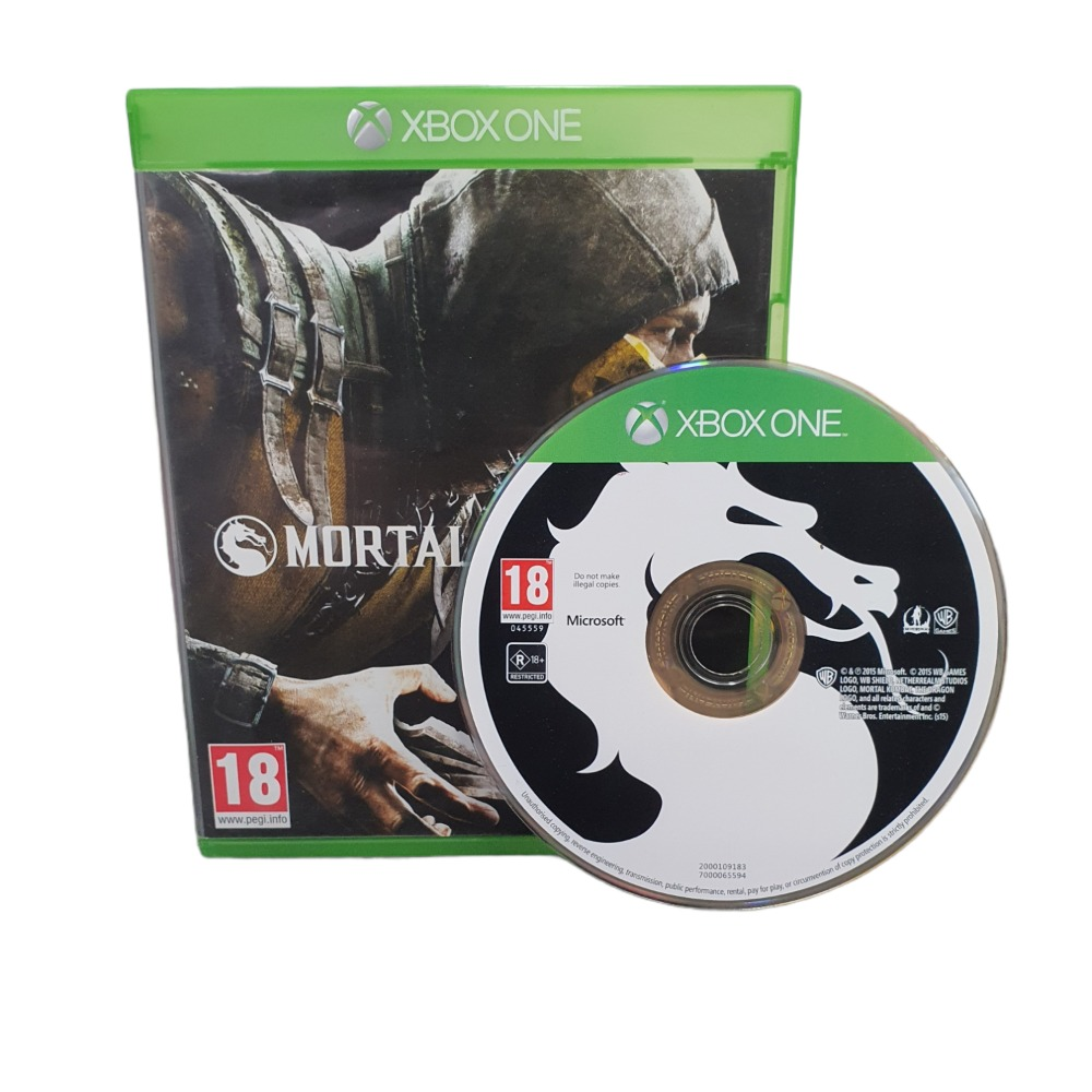 Product photo for Mortal Kombat X  - XBOX ONE GAME