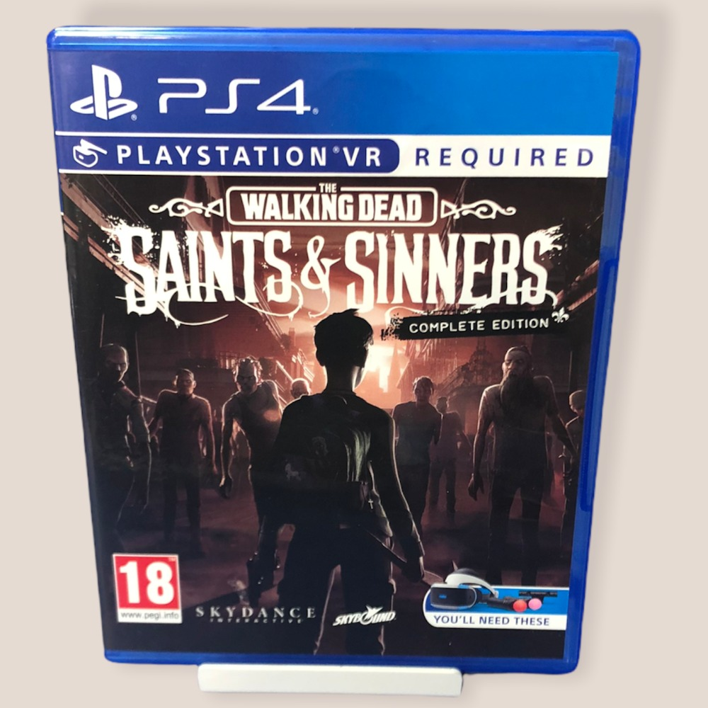 Product photo for PS4 Game Walking Dead, The: Saints & Sinners Complete Edition