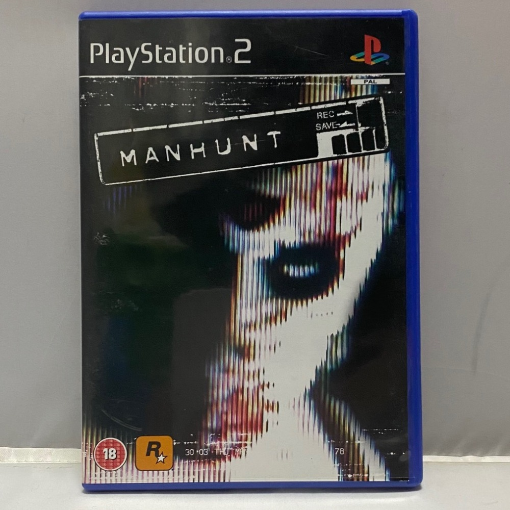 Product photo for PlayStation 2 Game Manhunt PS2